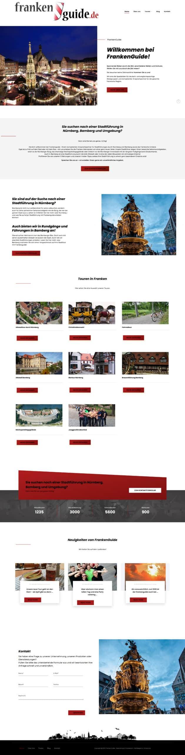 Franken Guide Stadtführung in Nürnberg