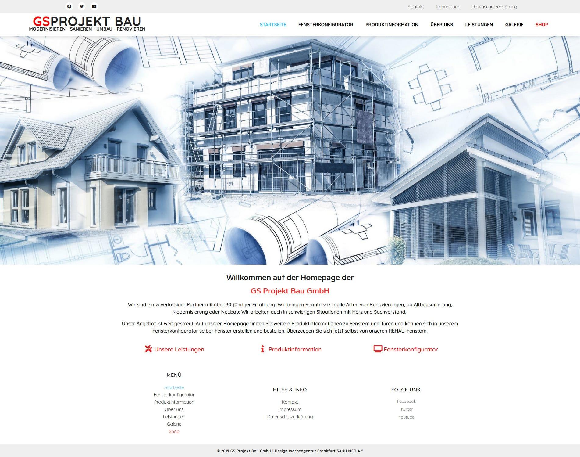 GSProjekt Bau GmbH Modernisieren – Sanieren – Umbau