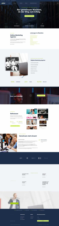 Werbeagentur Berlin Webdesign, SEO, Grafik SAHU MEDIA®